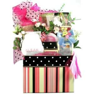 Just For Her   Spa & Gourmet Gift Basket For Women   Mothers Day Gift