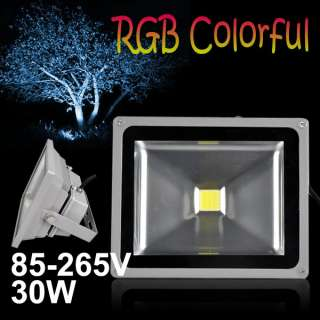 10W/20W/30W/50W High Power LED Garden Landscape Flood Light Multicolor