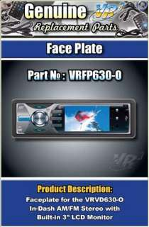 124928651_vr3 vrvd630 x car stereo replacement face plate ebay alpine cda 9830 car cd stereo replacement faceplate remote vrvd630 wiring harness at readyjetset.co