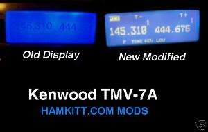 TM V7A Kenwood Transceiver Light kit Modification Mod
