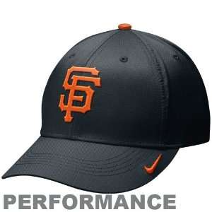 Nike San Francisco Giants Black Practice Performance Hat