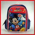 disney mickey mouse fun 16 backpack book bag school $ 16 99 listed dec