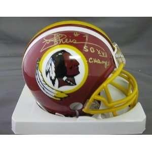 Joe Theismann Washington Redskins NFL Autographed Mini