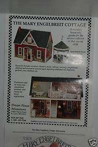 Mary Engelbreit Cottage Dollhouse   complete set