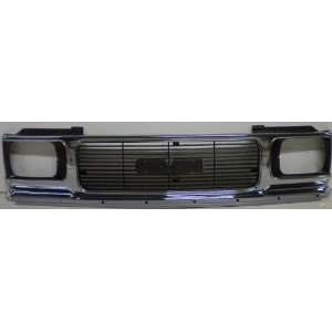 TKY CV07091GB MT5 GMC Chrome Replacement Grille