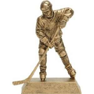 Signature Series Gold Male Ice Hockey Award Trophy