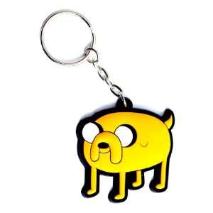 Adventure Time Rubber Keychain Jake: Toys & Games