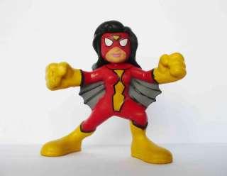Q39 MARVEL SUPER HERO SQUAD SPIDER WOMAN FIGURE