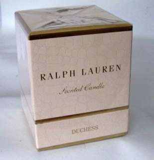 New Ralph Lauren $45 Duchess Floral Scented Candle Pink Gift Boxed RL