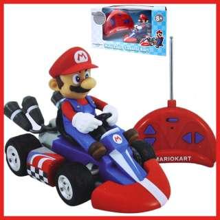 Nintendo Super Mario Kart Wii Mini Radio Control Kart Remote Contol