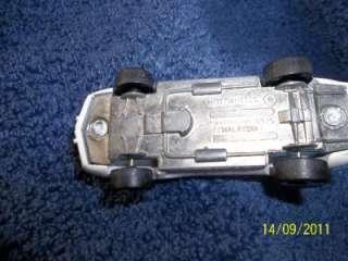 Hot Wheels Mattel 1975 Corvette Stingray All White Unpainted Metal