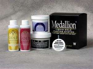 DELUXE LIQUID GOLD PLATING SYSTEM JEWELRY IMMERSION KIT, GOLD PLATING