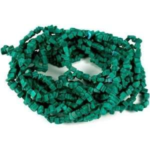Green Malachite Chip Beads Gemstone Beading 4 34 Str