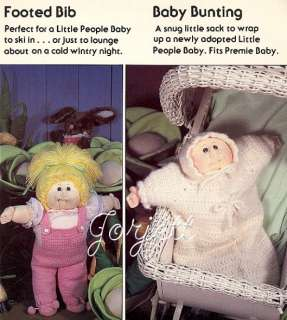 Crochet Clothing, soft sculpture doll crochet patterns