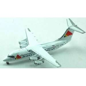 Jet X Jersey EA Bae 146 100 Model Airplane Everything