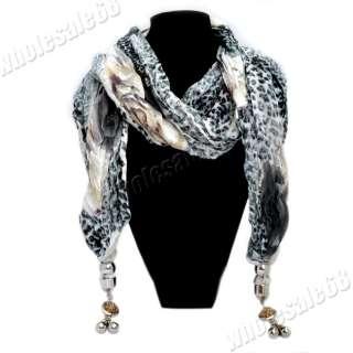 wholesale lots Womens leopard print pashmina long Scarf Shawl Wrap