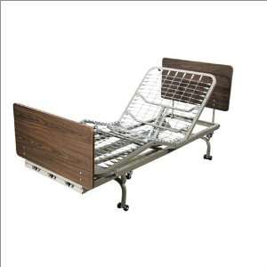 Medical Fully Electric Low Profile Longterm Care Bed Base: Home
