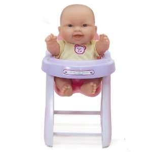 JC Toys Lots to Love Doll with High Chair (Expressions
