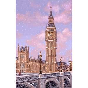 Liudmila Kondakova   Big Ben Mini Lithograph  Home