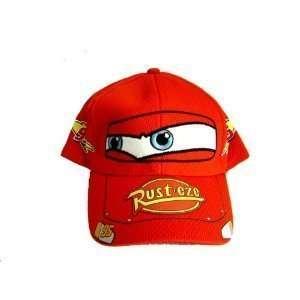 Red Cars Adjustable Hat   Disneys Cars Baseball Caps