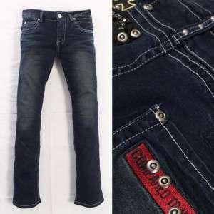 Mens Casual Washing Slim Straight Jeans (JW321
