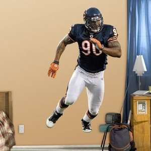 Julius Peppers Fathead Wall Graphic Bears   NFL Sports