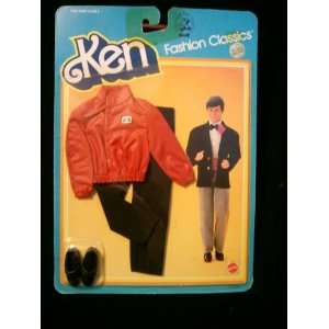 Barbies Ken Fashion Classics Red Jackt & Black Pants Toys & Games