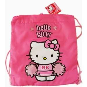 Sanrios Hello Kitty Pink Cheerleader Drawstring