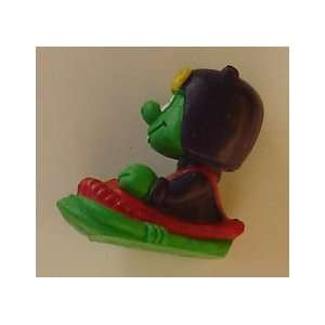 Astrosnik Figure On A Sled From McDonalds Kids Meal