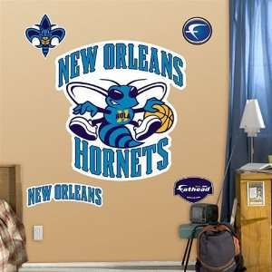 New Orleans Hornets Fathead Logo Wall Decal: Home & Kitchen