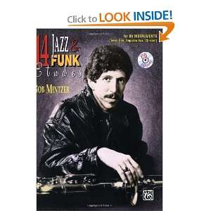 com 14 Jazz & Funk Etudes B Flat Instrument (Tenor Sax, Soprano Sax