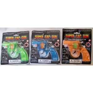 3 Pack   Super Cap Guns: Toys & Games