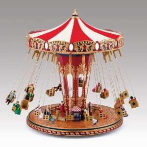 Mr. Christmas Worlds Fair Swing Carousel Home & Kitchen