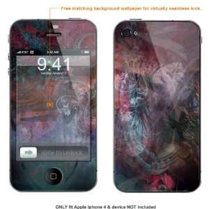 Skin Sticker for AT&T & Verizon Apple Iphone 4 case cover iphone4 46