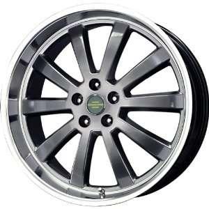 Duke Hyper Black Machined Wheel (20x9.5/5x120mm) Automotive