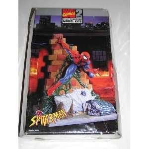 Marvel Comics Spider Man Glue Together Level 2 Model Kit Toys & Games