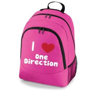 Love One Direction Bag New Girls School Backpack