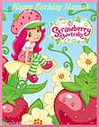 Strawberry Shortcake edible cake image topper  cupcake items in TASTY