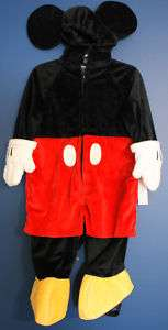 New Disney World MICKEY MOUSE Plush Costume 12 Months