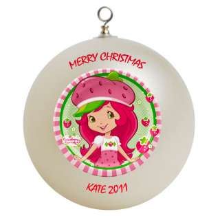 Strawberry Shortcake Christmas Ornament Gift Add Childs Name