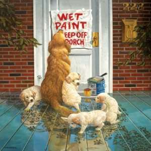 Don Crook Wet Paint Jigsaw Puzzle 1000pc Toys & Games