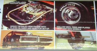 Dodge Street Charger Model Kit MPC 1971 Dodge Charger 1/16 Kit