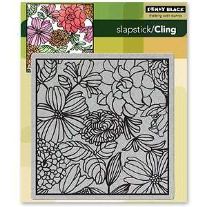 Penny Black Cling Rubber Stamp 5X7 1/2 Mosaic: Arts, Crafts & Sewing