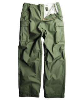 ALPHA INDUSTRIES M 65 STONE WASHED ARMY CARGO PANTS NEW