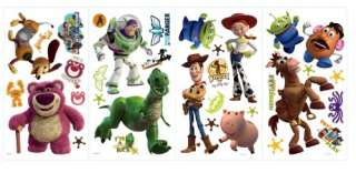 RoomMates RMK1428SCS Toy Story 3 Peel & Stick Wall Decals 034878569291