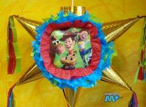 Pinata Jessie Toy Story Holds Candy Party Favor Big
