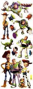 22 Toy Story Buzz Woody Disney Static Cling On Decals