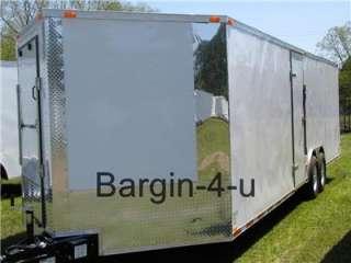 NEW 8.5x24 Snowmobile Enclosed Carhauler Cargo Trailer