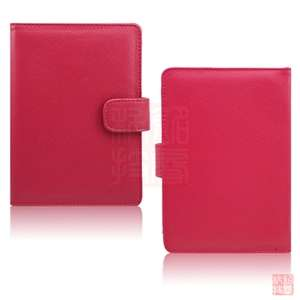 Leather Case Cover+Stylus+Screen Protector for  Kindle Touch