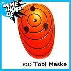 NARUTO Tobi Madara Uchiha Cosplay Mask masque Anime Manga Anime Manga